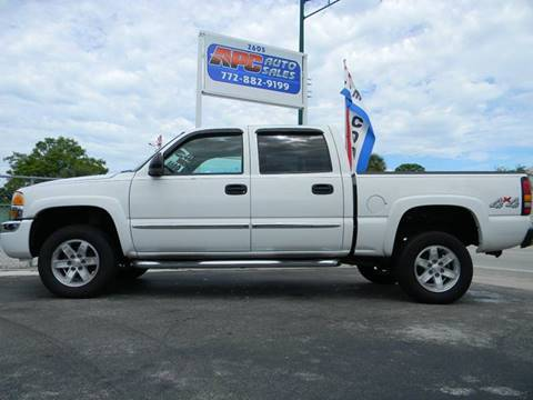 2005 GMC Sierra 1500 for sale at APC Auto Sales in Fort Pierce FL