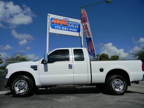 2008 Ford F-250 Super Duty for sale in Fort Pierce, FL