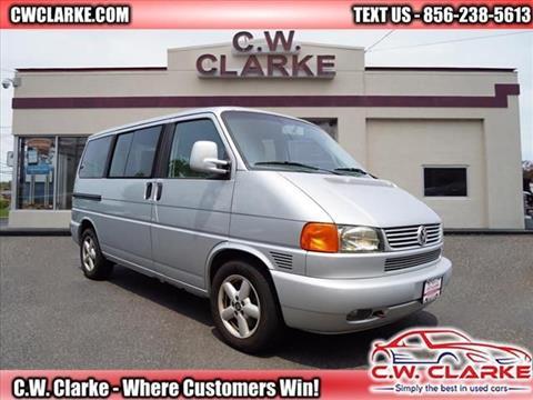 2002 Volkswagen EuroVan for sale in Gloucester City, NJ
