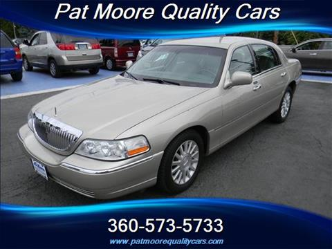 2004 Lincoln Town Car for sale in Vancouver, WA