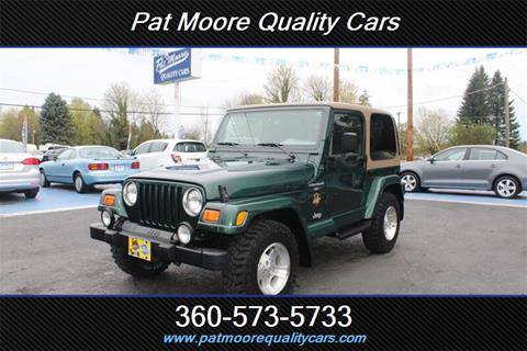 2000 Jeep Wrangler for sale in Vancouver, WA