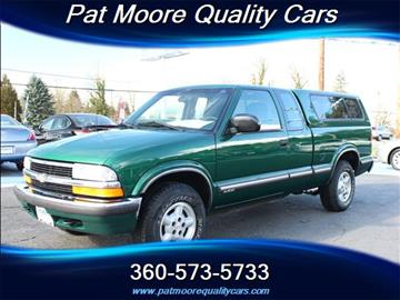 1999 Chevrolet S-10 for sale in Vancouver, WA