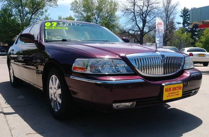 2007 Lincoln Town Car Designer Series 4dr Sedan In Loveland Co