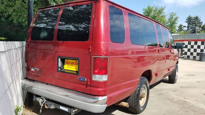 1998 Ford E-350 3dr XLT Club Wagon Extended Passenger Van In
