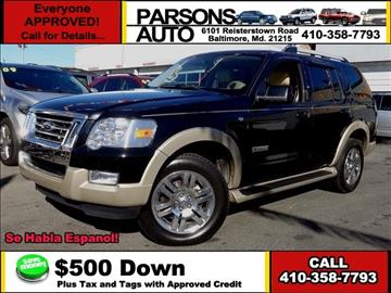 2007 Ford Explorer for sale in Baltimore, MD