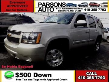 2007 Chevrolet Tahoe for sale in Baltimore, MD