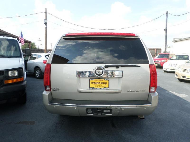Cadillac Escalade Esv AWD Dr SUV In Houston TX Metroplex - Metroplex cadillac dealers