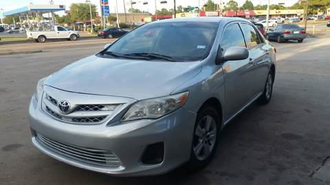 2012 Toyota Corolla for sale in Houston, TX
