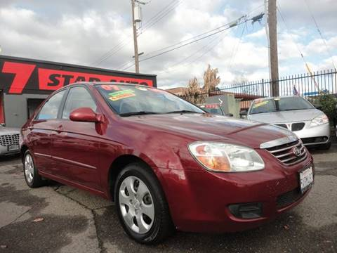 2007 Kia Spectra for sale at 7 STAR AUTO in Sacramento CA
