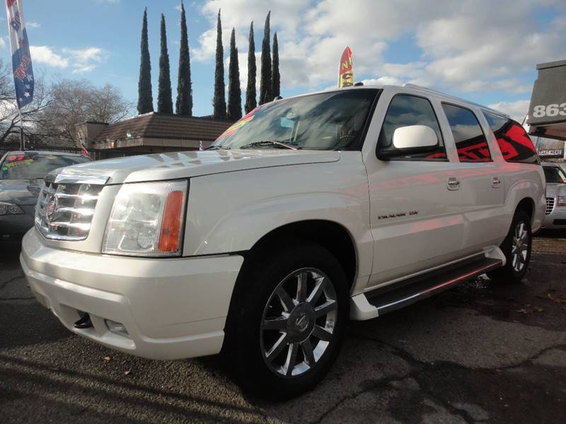 septemb item sold full new escalade window auction size in cadillac esv suv