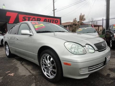 2003 Lexus GS 300 for sale at 7 STAR AUTO in Sacramento CA