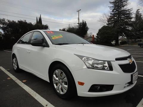 2012 Chevrolet Cruze for sale at 7 STAR AUTO in Sacramento CA