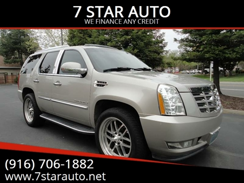 2007 Cadillac Escalade for sale at 7 STAR AUTO in Sacramento CA