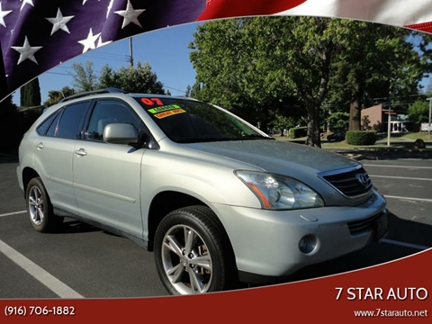 2007 Lexus RX 400h for sale at 7 STAR AUTO in Sacramento CA