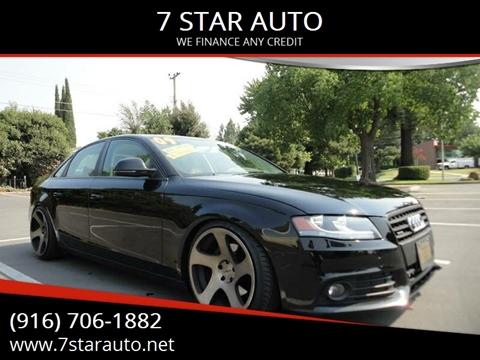 2009 Audi A4 for sale at 7 STAR AUTO in Sacramento CA