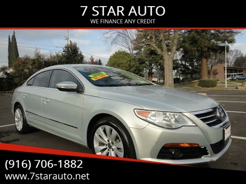 2010 Volkswagen CC for sale at 7 STAR AUTO in Sacramento CA