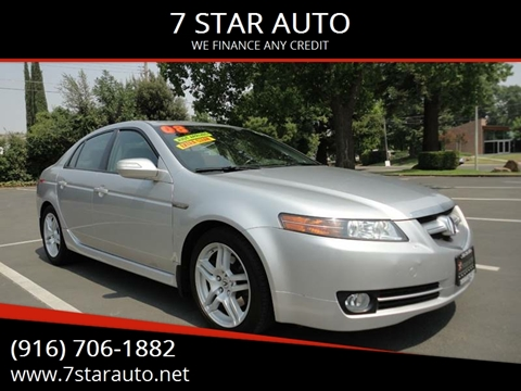 2008 Acura TL for sale at 7 STAR AUTO in Sacramento CA