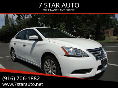 2015 Nissan Sentra for sale at 7 STAR AUTO in Sacramento CA