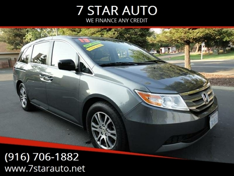 2013 Honda Odyssey for sale at 7 STAR AUTO in Sacramento CA