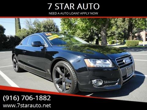 2010 Audi A5 for sale at 7 STAR AUTO in Sacramento CA