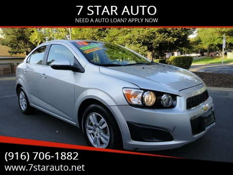 2013 Chevrolet Sonic for sale at 7 STAR AUTO in Sacramento CA