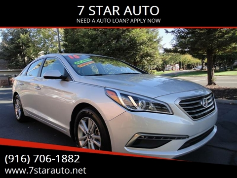 2015 Hyundai Sonata for sale at 7 STAR AUTO in Sacramento CA