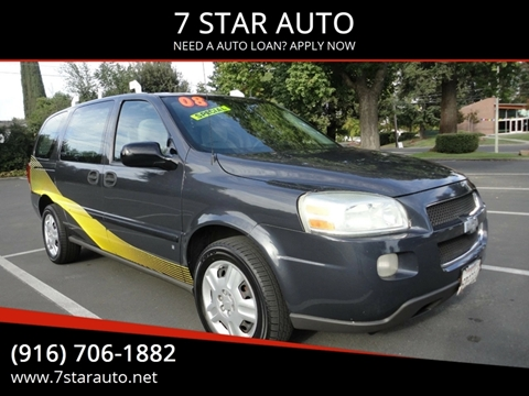 2008 Chevrolet Uplander for sale at 7 STAR AUTO in Sacramento CA