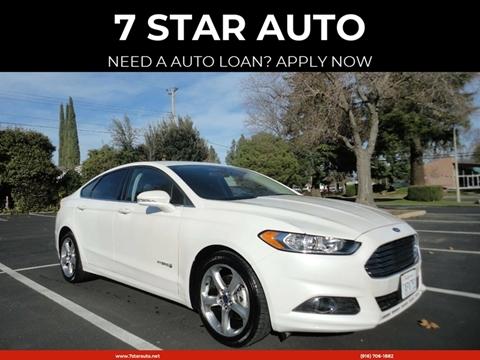 2013 Ford Fusion Hybrid for sale at 7 STAR AUTO in Sacramento CA