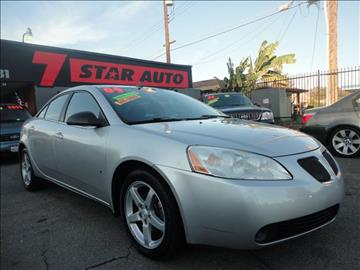 2009 Pontiac G6 for sale at 7 STAR AUTO in Sacramento CA
