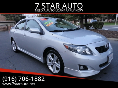 2009 Toyota Corolla for sale at 7 STAR AUTO in Sacramento CA