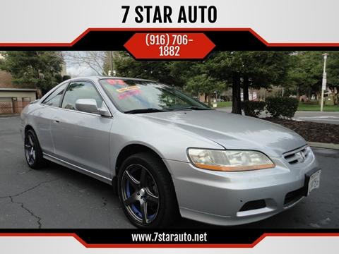 2002 Honda Accord for sale at 7 STAR AUTO in Sacramento CA