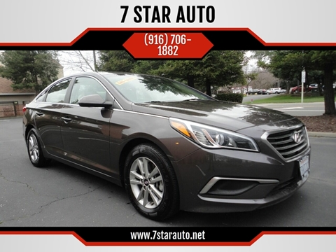 2016 Hyundai Sonata for sale at 7 STAR AUTO in Sacramento CA