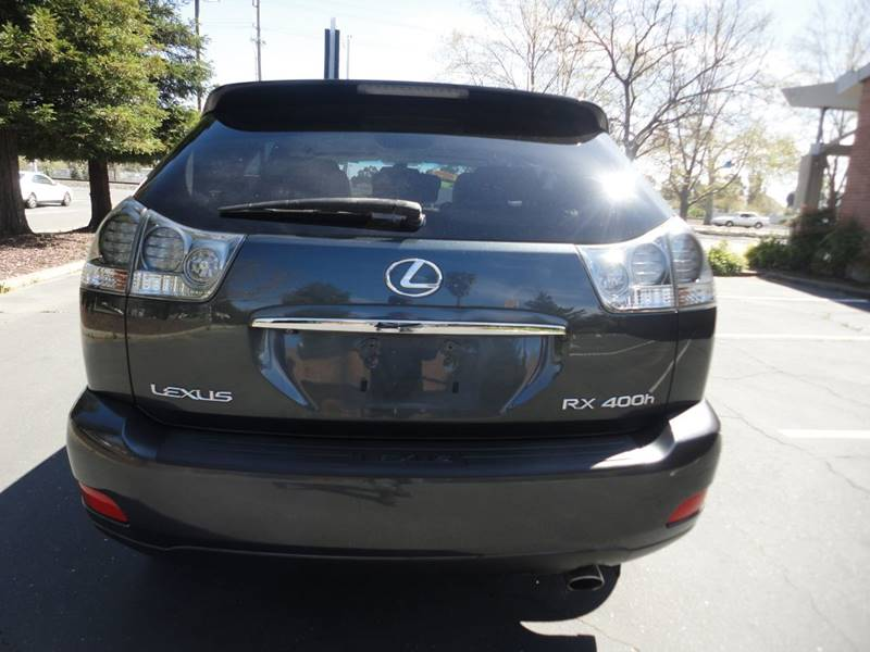 2006 lexus rx400h oil type
