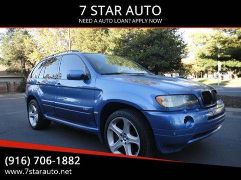 2002 BMW X5 for sale at 7 STAR AUTO in Sacramento CA