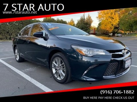 2016 Toyota Camry for sale at 7 STAR AUTO in Sacramento CA