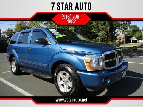 2004 Dodge Durango for sale at 7 STAR AUTO in Sacramento CA