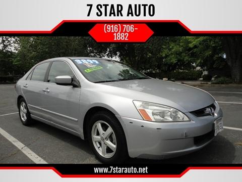 2004 Honda Accord for sale at 7 STAR AUTO in Sacramento CA