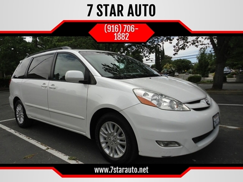2007 Toyota Sienna for sale at 7 STAR AUTO in Sacramento CA