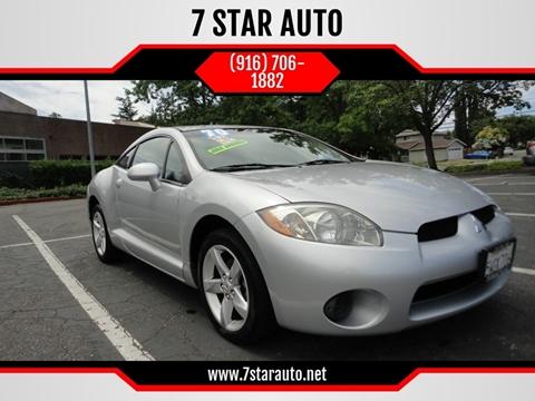 2007 Mitsubishi Eclipse for sale at 7 STAR AUTO in Sacramento CA