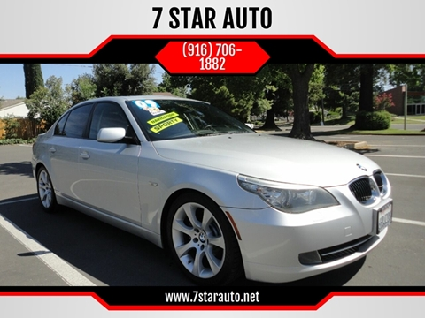2009 BMW 5 Series for sale at 7 STAR AUTO in Sacramento CA