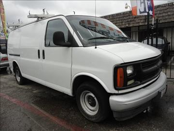 2002 Chevrolet Express Cargo for sale at 7 STAR AUTO in Sacramento CA
