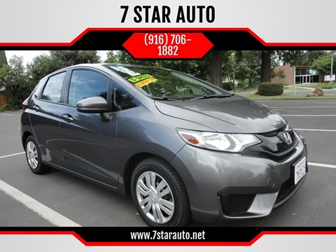 2015 Honda Fit for sale at 7 STAR AUTO in Sacramento CA