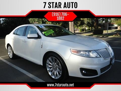 2012 Lincoln MKS for sale at 7 STAR AUTO in Sacramento CA
