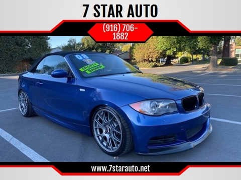 2008 BMW 1 Series for sale at 7 STAR AUTO in Sacramento CA
