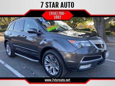 2012 Acura MDX for sale at 7 STAR AUTO in Sacramento CA