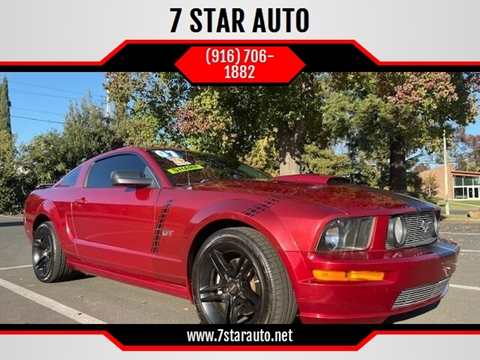 2007 Ford Mustang for sale at 7 STAR AUTO in Sacramento CA