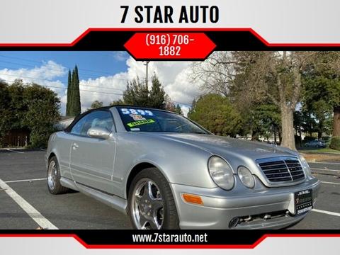 2000 Mercedes-Benz CLK for sale at 7 STAR AUTO in Sacramento CA