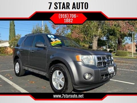 2009 Ford Escape for sale at 7 STAR AUTO in Sacramento CA