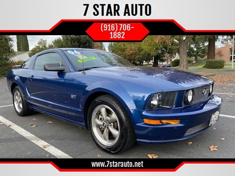 2006 Ford Mustang for sale at 7 STAR AUTO in Sacramento CA