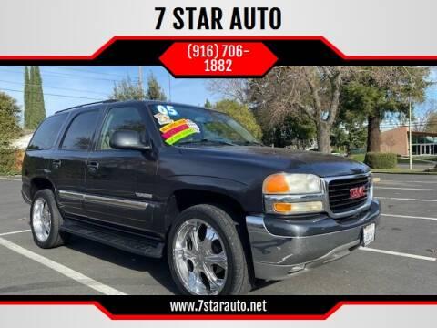 2004 GMC Yukon for sale at 7 STAR AUTO in Sacramento CA
